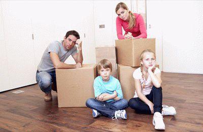 Как при разводе делится жилплощадь